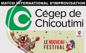 Match international d'improvisation Nouvelle-Aquitaine / Québec